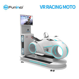 5 gier 9D VR Simulator / Motorcycle Racing Simulator 1250X3065X2338 Rozmiar Mm