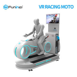 220Volt Indoor Racing Games Motocykl 1 gracz Car Driving VR Simulator 0.7KW Dla centrum handlowego