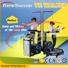 Wonderful Full Motion Video Game 9D VR Simulator Treadmill For Shopping Park