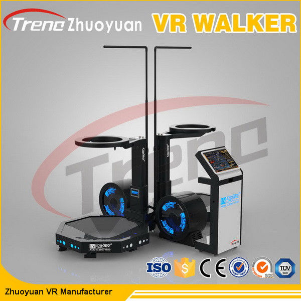 Shopping Mall Multi Directional Treadmill Virtual Reality 360 Degree View  Easy Operate