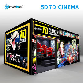 220 V 8,0 kW 7D Movie Cinema Interactive Full Motion Cinema Seat 5D 12D Hologram Technology